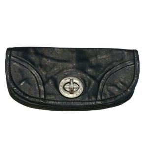 Marc by marc Jacob black leather  clutch